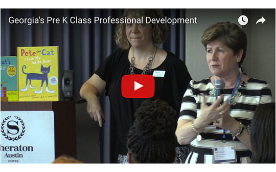 Video of a talk on Georgia's Pre K CLASS Professional Development