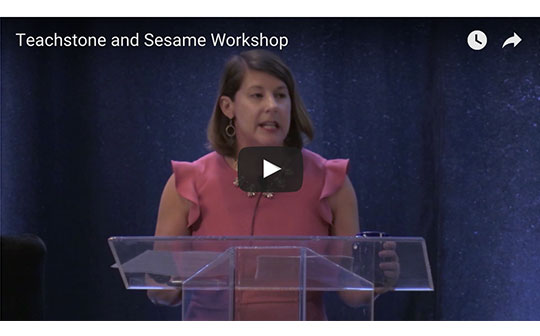 Video of presentation on Teachstone and Sesame Workshop from InterAct CLASS conference
