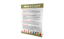 What is CLASS handout image