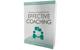 Cover of book on effective CLASS coaching