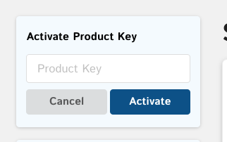 Activate product key