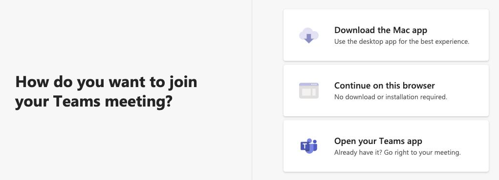 Microsoft Teams - Join Dashboard