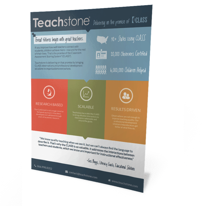 Teachstone Info Sheet